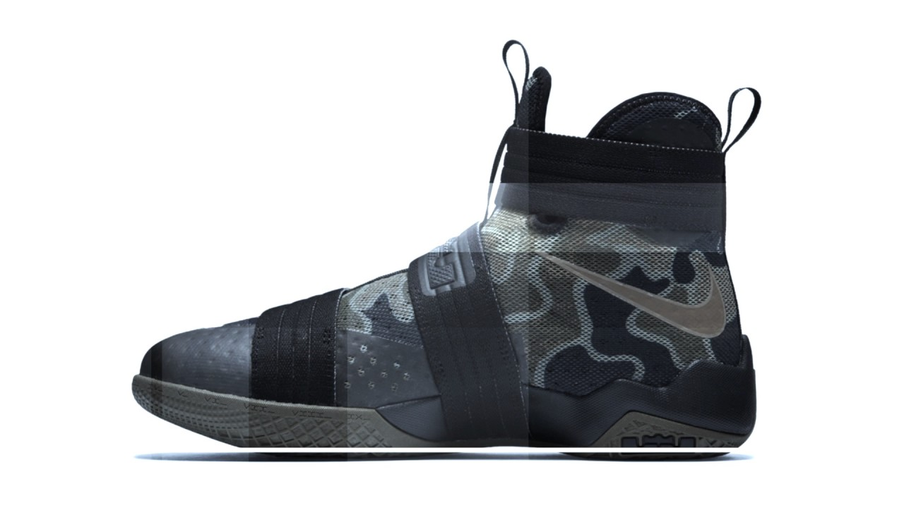 more photos 913fb 96535 Nike Zoom LeBron Soldier 10 SFG