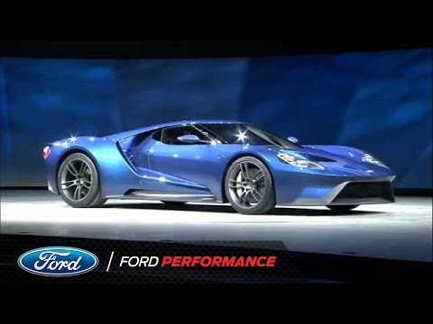 Ford Motor Company Unveils the New GT | Ford GT | Ford Performance