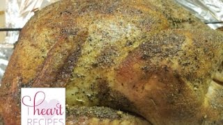 How to cook a Turkey | I Heart Recipes