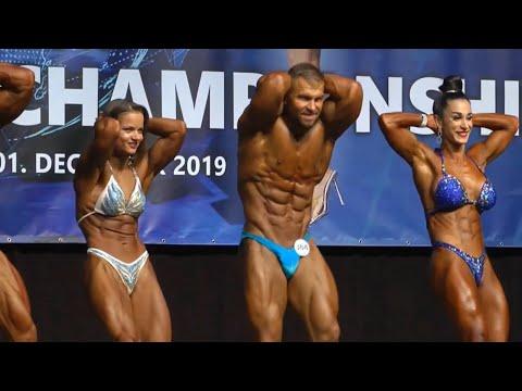 Mix Pair Bodybuilding IFBB World Fitness 2019