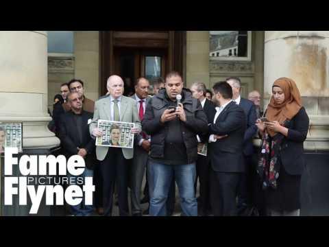 Reverend David Urquhart Speaks At The Vigil For Jo Cox In Birmingham