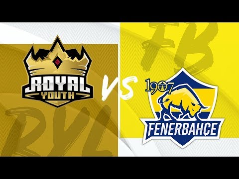 Royal Youth ( RYL ) Vs 1907 Fenerbahçe Espor ( FB ) | 2019 Yaz Mevsimi 2. Hafta