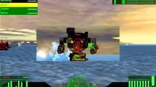Let's play Mechwarrior 4 Mercenaries part 22 (Beach fight)