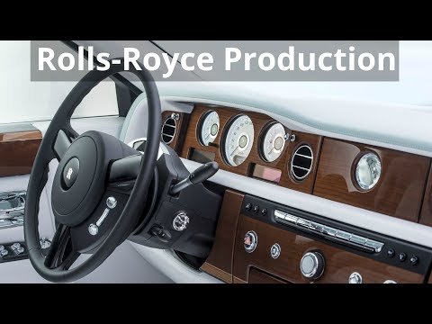 Rolls-Royce Bespoke Serenity Phantom Production
