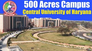 Central University of Haryana CAMPUS Tour | Hostel, Mess, Classroom, Playground, Canteen, Market CUH