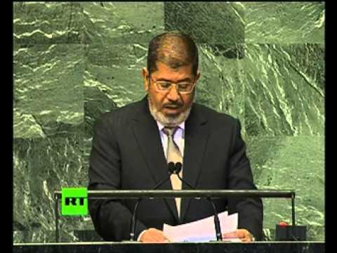 Egypt's Morsi debuts at UN General Assembly (Full speech)