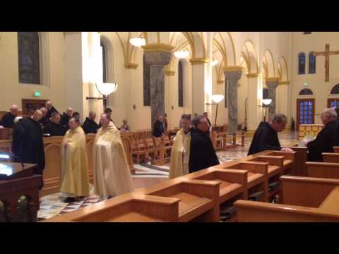 Vespers - Presentation of Our Lord - 2016 - St. Meinrad Archabbey