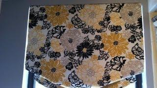 Soft Fold Roman Shade