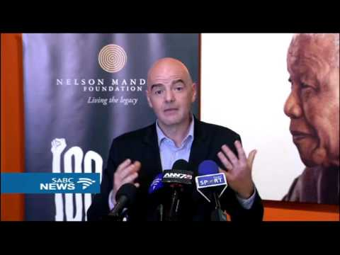FIFA president Infantino backs mission to develop the game in Africa