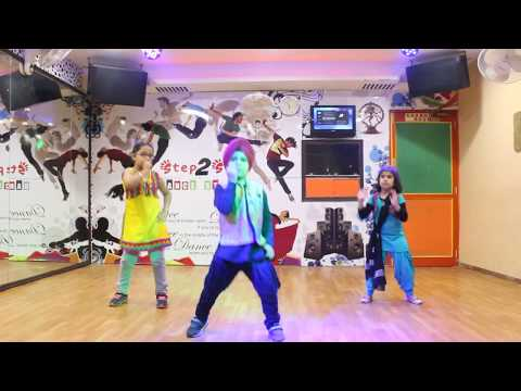 Pagg Wali Selfie Kids Dance Performance   Preet Harpal   Easy Bhangra Steps   Bhangra Choreography