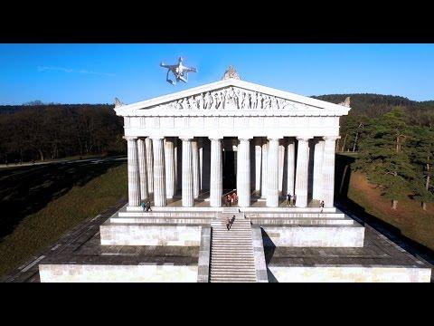 MS Film & Foto / Cinemalook Luftaufnahmen Regensburg / Walhalla 2016 Full HD