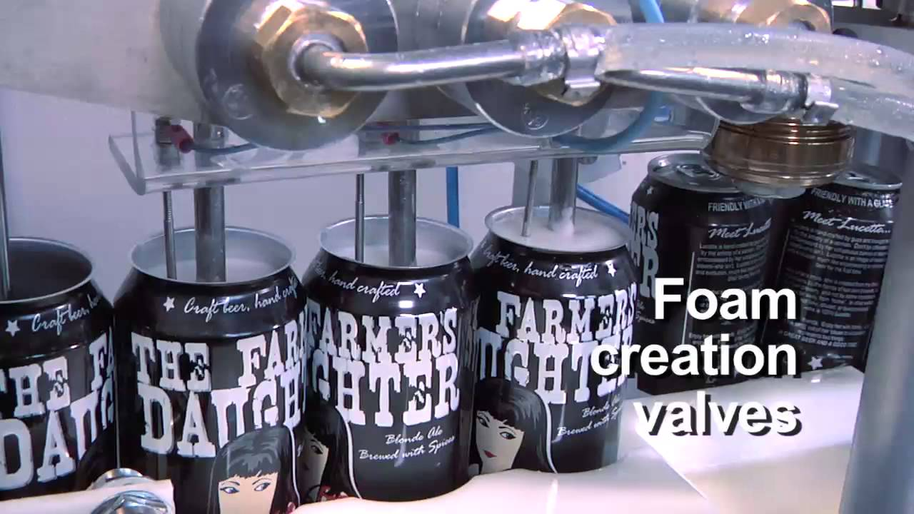 Cask Brewing Semi Automated Canning System Hi Res Youtube
