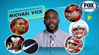Michael Vick talks Patrick Mahomes, Madden 2020 and Scarface in his 10 Random Shoutouts | FOX SPORTS