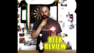 King Fisher Lager Beer Review - tree cut down - blooper
