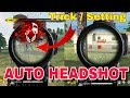 New Trick/Bug For Auto Headshot - Garena Free Fire