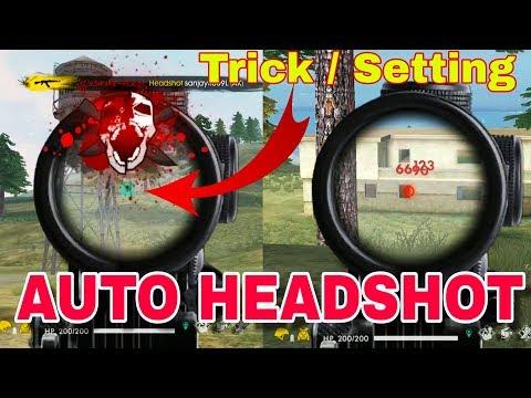 New Trick/Bug For Auto Headshot - Garena Free Fire