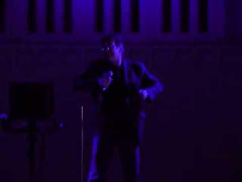 "DUNES SUMMER THEATRE Mardi Gras Karaoke Feb 16, 2013 Dan Moser ""Crusin' Down the Road"""