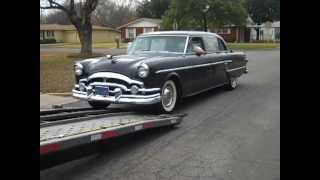 1954 PACKARD PATRICIAN 8 PASSENGER CORPORATION LIMO (PART 1).MP4