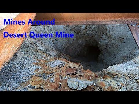 Mines Around Desert Queen Mine In Joshua Tree National Park 2-11-2020