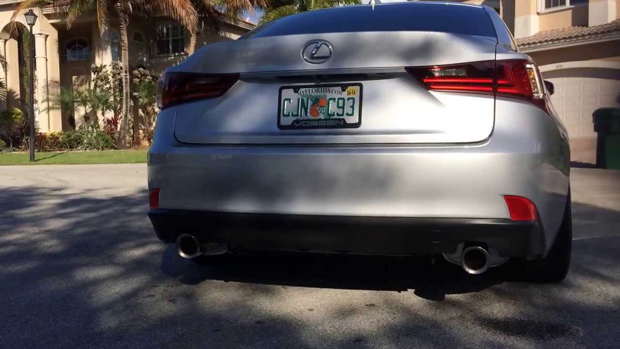 2017 Lexus Is 350 F Sport Exhaust System Part 1 You