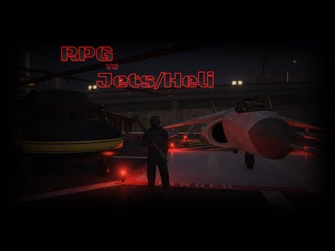 RPG vs Jets and other Aircraft GTA 5 Online