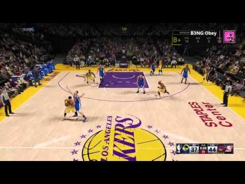 NBA 2K16 Top 5 Moments Of The Wekk Lol #1