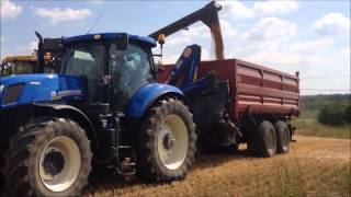 Kombajny New Holland Miškovice 2015
