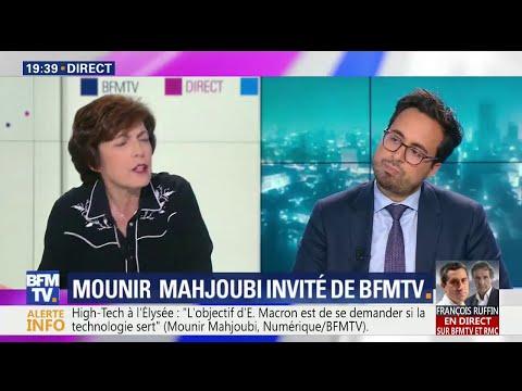 """""""Mâles blancs"""": """"Macron parlait de lui-même"""", pour Mahjoubi"""