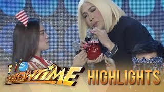 Vice Ganda removes his wig It&#39s Showtime
