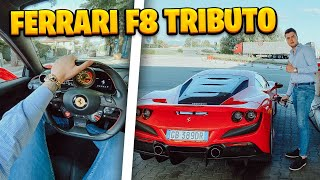 NEW FERRARI F8 TRIBUTO!!!