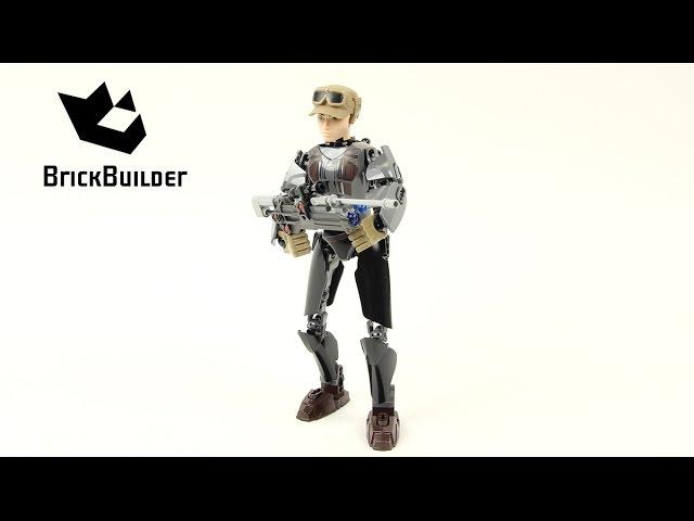 Lego Star Wars 75119 Sergeant Jyn Erso - Lego Speed Build