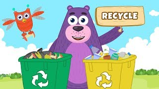 What is recycling for kids?  | Polly Olly | Kids Learning | #S02E09
