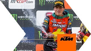Jorge Prado makes history in Imola | KTM