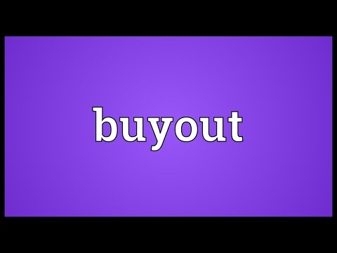 Buyout Meaning