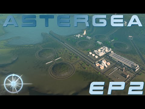 Cities: Skylines, Astergea EP2 - The Fusion Power Plant