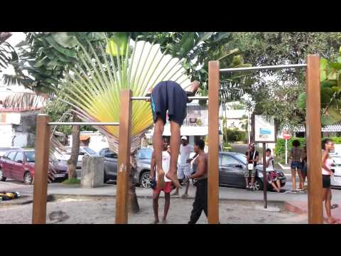Street Workout Mada Bar'z - Motivation, Progréssion (Mdk Prod)