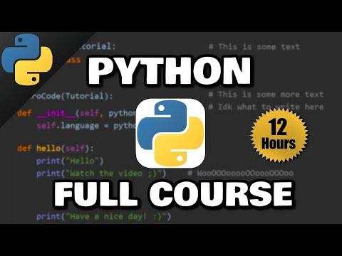 Python Full Course 🐍 (𝙁𝙧𝙚𝙚)
