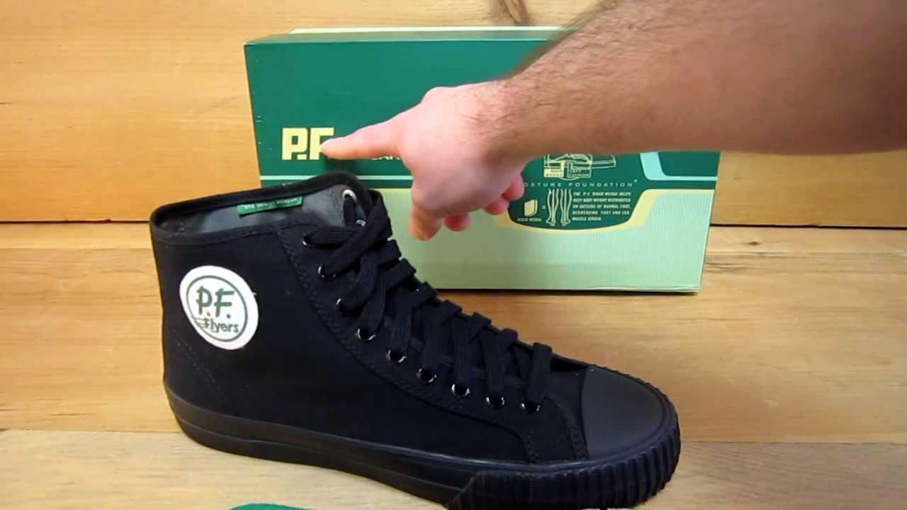 PF Flyers Sandlot 20th Anniversary Shoe - YouTube