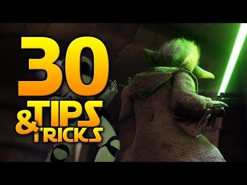 Star Wars Battlefront 2 - 30 TIPS & TRICKS YOU SHOULD KNOW!
