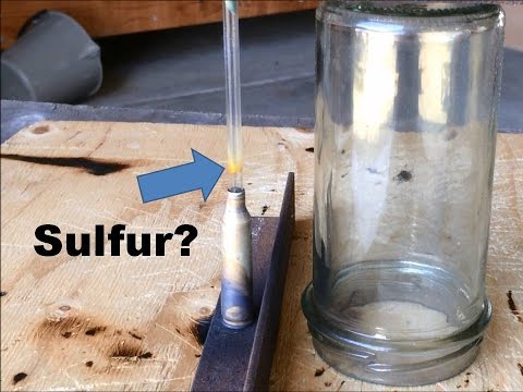 Extracting Sulfur from Iron Pyrite