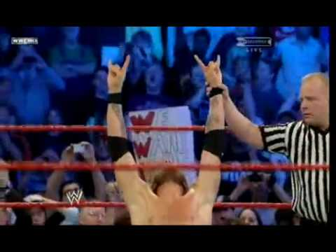 Edge Returns and wins the 2010 Royal Rumble