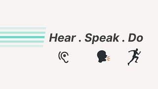 Hear, Speak, Do | PS. Sam Ellis
