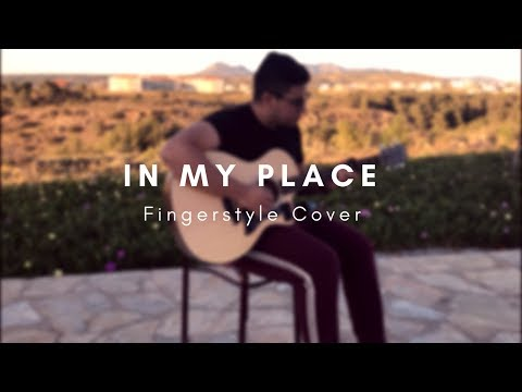 In My Place  Coldplay  Acoustic Fingerstyle
