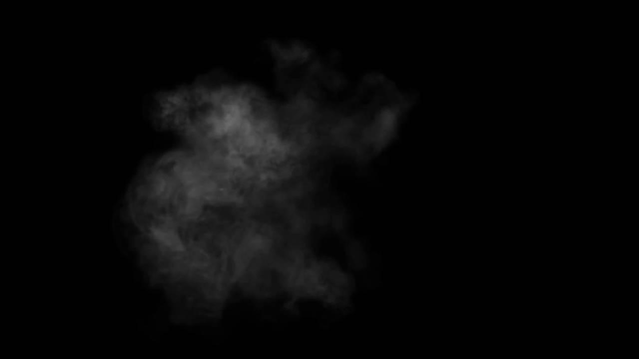 Smoke Black Background Effect Youtube