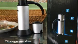Дымогенератор для холодного копчения RAWMID Aroma Smoking Gun RAS-01.Обзор.