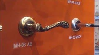 видео Дверные ручки для межкомнатных дверей: виды, принцип действия и основные отличия