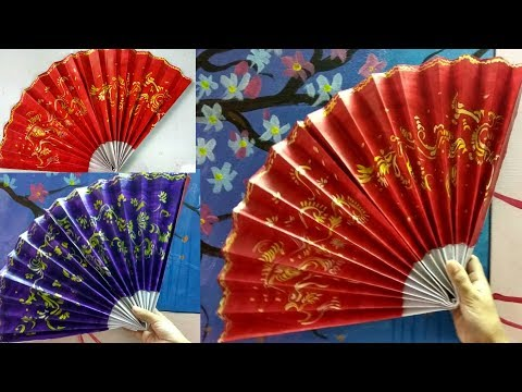 Japanese fan|| how to make Chinese or japanese FAN easily