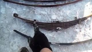 видео Замена рессоры