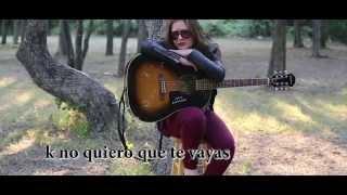Cover images Me haces falta (cancion propia) Tania Brou