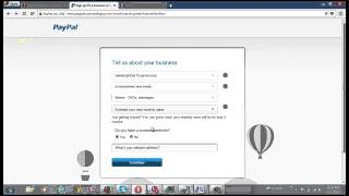 How to Make a PayPal Business Account in the new PayPal system